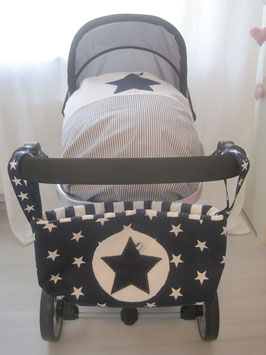 9/ Kinderwagentasche dunkelblau