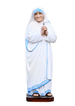 Statua Madre Teresa di Calcutta cm. 30 in resina