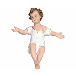 Statua Gesù Bambino braccia aperte cm. 30