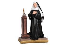 Statua Santa Rita in ginocchio cm. 40