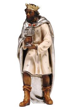 Statua Re Magio moro in legno