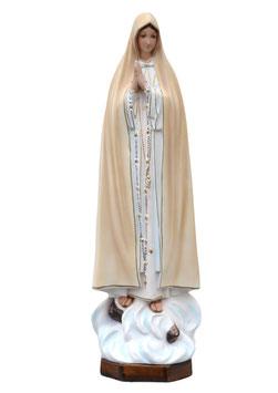 Statua Madonna di Fatima in resina cm. 60