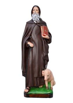 Statua Sant ' Antonio Abate cm. 40 in resina