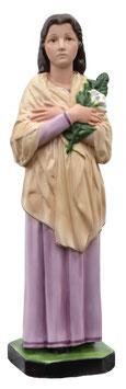 Statua Santa Maria Goretti cm. 40 in resina