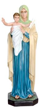 Statua Regina degli Apostoli in vetroresina cm. 100
