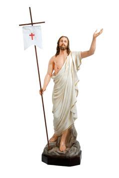 Statua Gesù risorto cm. 165 in vetroresina