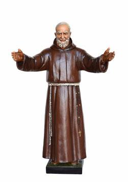 Statua San Padre Pio cm. 110 braccia aperte