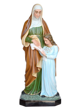 Statua Sant' Anna cm. 98