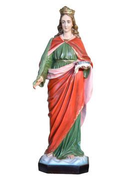 Statua Santa Lucia cm. 130 in vetroresina