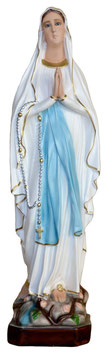 Statua Madonna di Lourdes in resina cm. 70