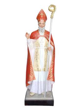 Statua San Biagio cm. 150 in vetroresina