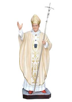 Statua Papa Giovanni Paolo II cm. 200 in vetroresina