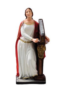 Statua Santa Cecilia cm. 40 in resina