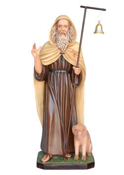 Statua Sant' Antonio Abate cm. 130 in vetroresina