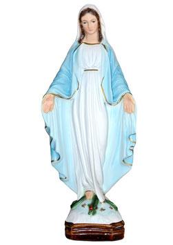 Statua Madonna Miracolosa in resina cm. 30