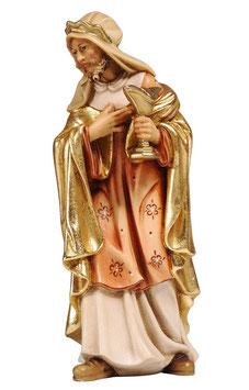 Statua Re Magio bianco in legno