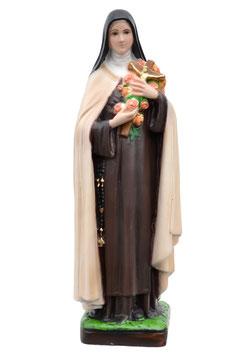 Statua Santa Teresa di Lisieux cm. 30 in resina