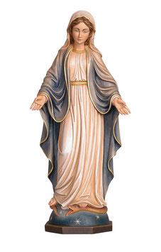 Statua Madonna delle Grazie in legno
