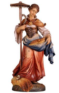 Statua Santa Notburga in legno