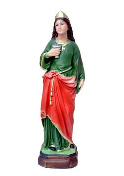 Statua Santa Lucia cm. 30 in resina