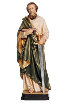 Statua San Paolo in legno