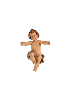 Statua Gesù Bambino in legno