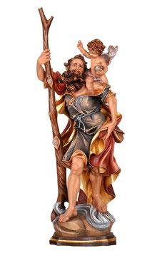 Statua San Cristoforo in legno
