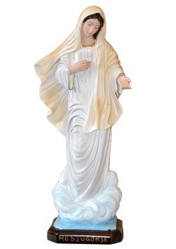 Statua Madonna di Medjugorje in resina cm. 40