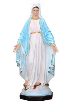 Statua Madonna Miracolosa in vetroresina cm. 160