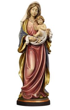 Statua Madonna dell' amore in legno