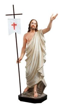 Statua Gesù risorto cm. 110 in vetroresina