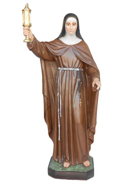 Statua Santa Chiara cm. 165 in vetroresina