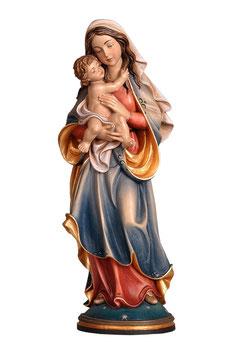 Statua Madonna della Pace in legno