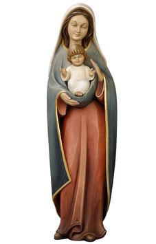 Statua Madonna del cuore in legno