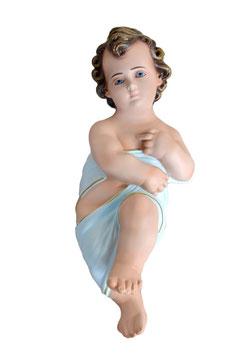 Statua Gesù Bambino in fasce cm. 40