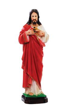 Statua Sacro Cuore di Gesù cm. 40