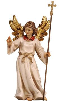 Statua Angelo indicatore in legno