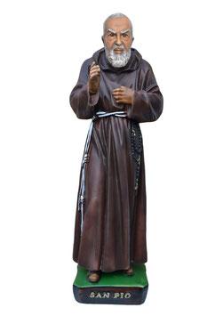 Statua San Padre Pio da Pietrelcina cm. 60 in resina