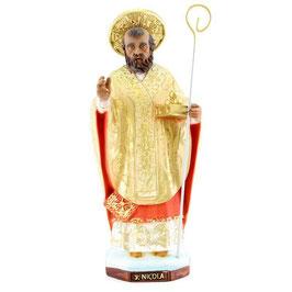 Statua San Nicola di Bari cm. 25