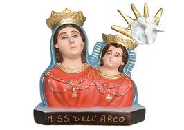 Statua Madonna dell' Arco in resina - busto cm. 35
