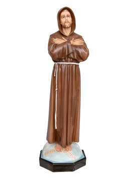 Statua San Francesco d' Assisi cm. 100