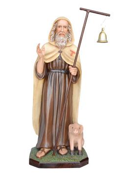 Statua Sant ' Antonio Abate cm. 100 in vetroresina
