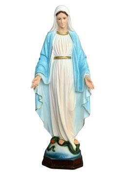 Statua Madonna Miracolosa in resina cm. 60