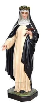 Statua Santa Caterina da Siena cm. 80 in vetroresina