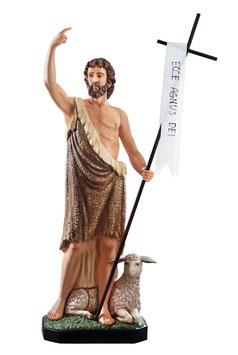 Statua San Giovanni Battista cm. 160 in vetroresina