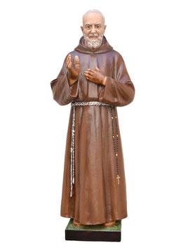 Statua San Padre Pio da Pietrelcina cm. 110 in vetroresina