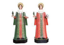 Statua Santi Cosma e Damiano cm. 80 in vetroresina