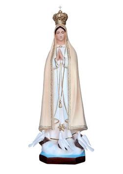 Statua Madonna di Fatima in resina cm. 100 con colombe