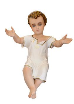 Statua Gesù Bambino braccia aperte cm. 50
