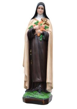Statua Santa Teresa di Lisieux cm. 50 in resina